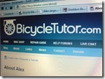 Bicycle Tutor Screenshot