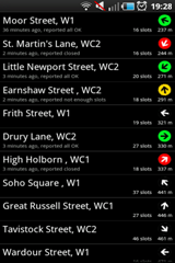 Cycle hire widget