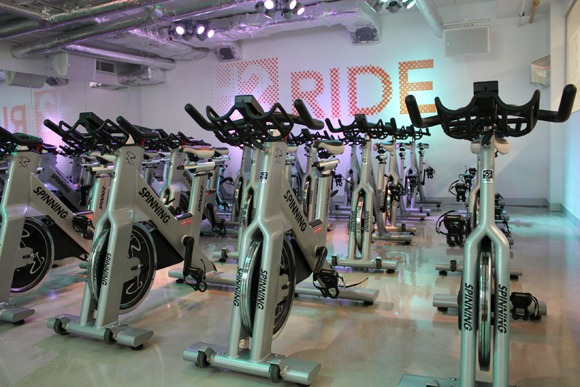Spinning classes at H2 Bike Run