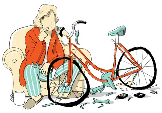 Illustration from the London Cyclist Handbook